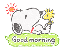 Cute Crayon Snoopy Stickers sticker #14735556