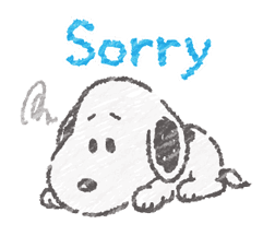 Cute Crayon Snoopy Stickers sticker #14735560