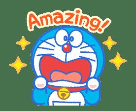 Doraemon's Everyday Expressions sticker #14866862