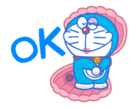 Doraemon's Everyday Expressions sticker #14866863