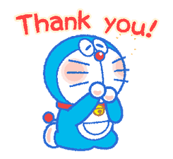 Doraemon's Everyday Expressions sticker #14866865