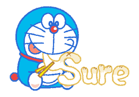 Doraemon's Everyday Expressions sticker #14866867