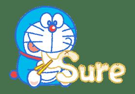 Doraemon's Everyday Expressions sticker #14866867