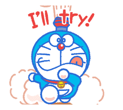 Doraemon's Everyday Expressions sticker #14866876