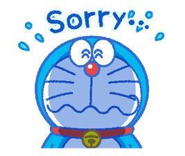 Doraemon's Everyday Expressions sticker #14866879