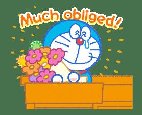 Doraemon's Everyday Expressions sticker #14866882