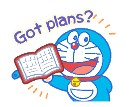Doraemon's Everyday Expressions sticker #14866885