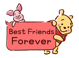 Animated Winnie the Pooh Speech Balloons sticker #14904615