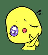Selfish chick PIYO-CHAN sticker #70989
