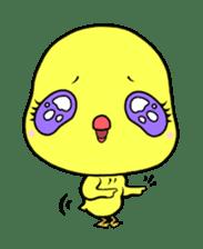Selfish chick PIYO-CHAN sticker #70999