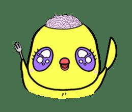 Selfish chick PIYO-CHAN sticker #71000