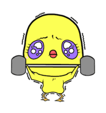 Selfish chick PIYO-CHAN sticker #71004