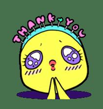 Selfish chick PIYO-CHAN sticker #71018