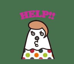 Thumb-san sticker #97121