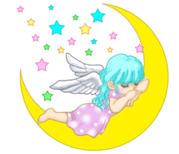 Lovely Angels' XOXO sticker #127829