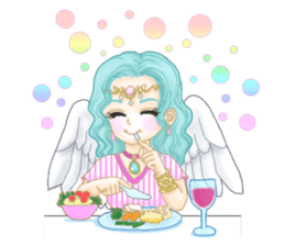 Lovely Angels' XOXO sticker #127831