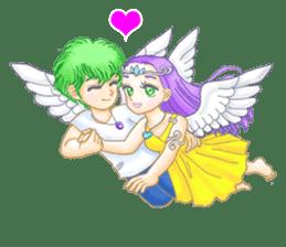 Lovely Angels' XOXO sticker #127836