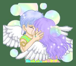 Lovely Angels' XOXO sticker #127839