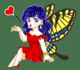 Lovely Angels' XOXO sticker #127841
