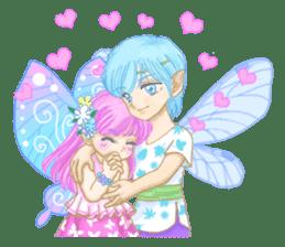 Lovely Angels' XOXO sticker #127843