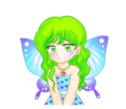 Lovely Angels' XOXO sticker #127846