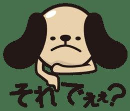 kansai-dog sticker. sticker #208153