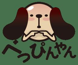 kansai-dog sticker. sticker #208166