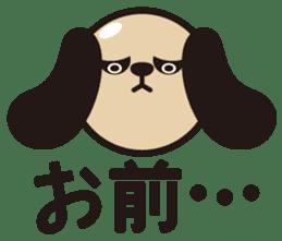 kansai-dog sticker. sticker #208167
