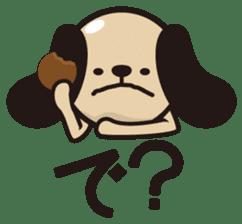 kansai-dog sticker. sticker #208173