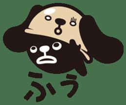 kansai-dog sticker. sticker #208179