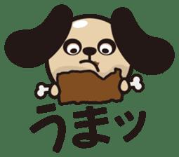 kansai-dog sticker. sticker #208181