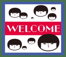 KOKESHIAIKO sticker #444744