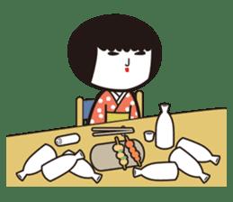 KOKESHIAIKO sticker #444750