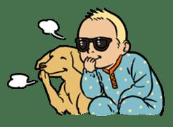Sunglasses Baby sticker #450040