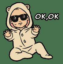 Sunglasses Baby sticker #450042