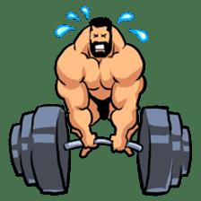 Super Muscle Man sticker #799400