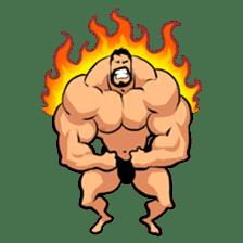 Super Muscle Man sticker #799402