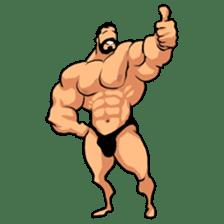 Super Muscle Man sticker #799403