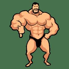 Super Muscle Man sticker #799404