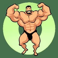 Super Muscle Man sticker #799405