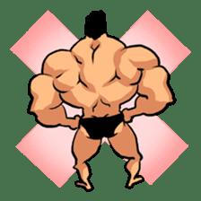Super Muscle Man sticker #799406