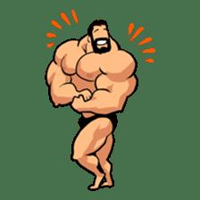 Super Muscle Man sticker #799407