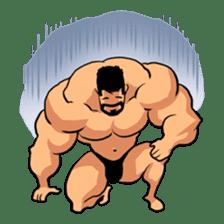 Super Muscle Man sticker #799408