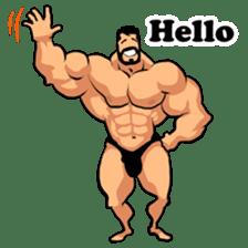 Super Muscle Man sticker #799409