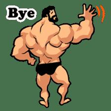 Super Muscle Man sticker #799410