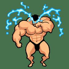 Super Muscle Man sticker #799412