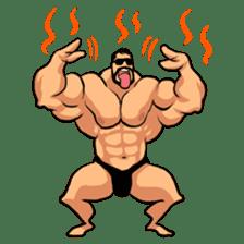 Super Muscle Man sticker #799414