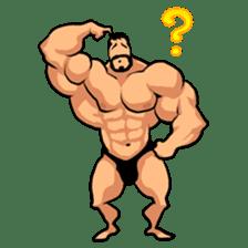 Super Muscle Man sticker #799415