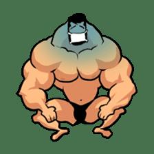 Super Muscle Man sticker #799420