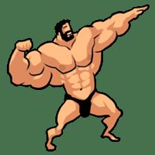 Super Muscle Man sticker #799425